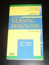 Mosby's Guide to NURSING DIAGNOSIS by Ladwig & Ackley 2nd ed. 2e 2007 NEW
