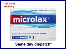 Microlax enema, 5ml x 4,SAME DAY DISPATCH**