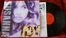 SUSANNA HOFFS **When You're A Boy** ORIGINAL 1991 SPAIN LP w/ INSERT BANGLES