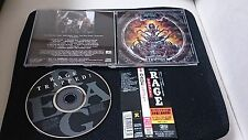 RAGE trapped ! +2 Japan 1st press cd 15tracks obi