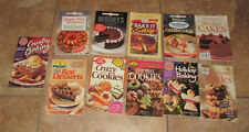 Lot 11 Cookbooks Desserts Baking Chocolate Cakes Cookies Cheesecakes Holiday