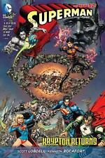 Superman: Krypton Returns by Scott Lobdell and Justin Jordan (2015, Hardcover)