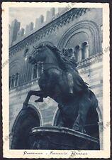 PIACENZA CITTÀ 120 MONUMENTO a RANUCCIO FARNESE Cartolina viaggiata 1940