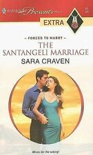 The Santangeli Marriage (Harlequin Presents Extra)-ExLibrary