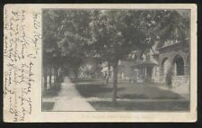 Postcard UNION CITY Indiana/IN  East Division Street Houses/Homes view 1906?