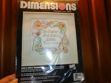 Cross Stitch Kit Dimensions Be Glad For Life's Little Treasures Beach Sea Life