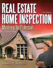 Real Estate Home Inspection: Mastering the Profession, Russell Burgess, Good Boo