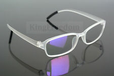 Fashion Transparent Eyeglass Frame Clear Lens Full Rim Glasses Spectacles