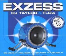 DJ Taylor & F.L.O.W. Exzess (7 tracks, 2000) [Maxi-CD]