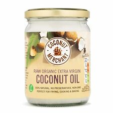 Coconut Merchant Raw Organic Extra Virgin Coconut Oil 500ml *VEGAN, GLUTEN FREE*