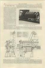 1925 Asphalt Mixing Plant Davey Paxman Description
