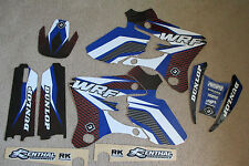 FLU  DESIGNS PTS GRAPHICS  YAMAHA  WR250F  WR450F  WRF250  WRF450  2003 2004