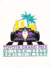 1997 TOYOTA GRAND PRIX OF LONG BEACH MEDIA GUIDE