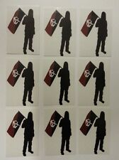 Anarchist Sticker Pack (10) - NEW - Antifa / Punk / Rebel / Anarchy Stickers
