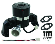 35GPM SBC SB Chevy Black Electric Water Pump Small Block Chevy 283 327 350 400