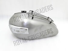 TRIUMPH T120 BONNEVILLE 3.5 GALLON PETROL TANK WITH PARCEL RACK & BADGES @JUSTRO
