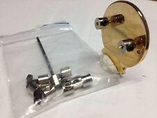 LAPEL PIN BADGE LOCKERS -- BAG OF 10-- NEVER LOSE A PIN AGAIN.    C011201