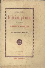 Letterio Micali Arichetta: Raccolta dei gallicismi più comuni Messina 1880