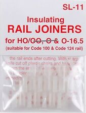 Peco SL-11 HO Code 100 Insulated Rail Joiner 12 Pack