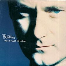 """45 TOURS / 7"""" SINGLE--PHIL COLLINS--I WISH IT WOULD RAIN DOWN / HOMELESS--1990"""