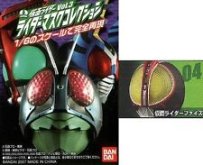 Bandai Kamen Rider Masked Mask Head Collection Part 3 Faiz Orange Bulb Stand