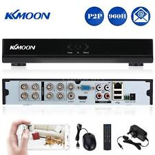 New KKMOON 8CH 960H D1 CCTV P2P Network DVR HDMI Video Playback Monitoring W6F8