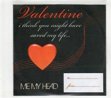 (GT79) Valentine, Me My Head - DJ CD
