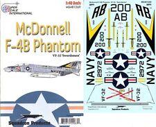 SuperScale Decals 1:48 McDonnell F-4B Phantom VF-32 Swordsmen #MS481269