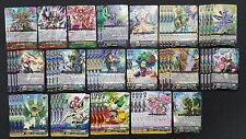 Cardfight Vanguard Neo Nectar Complete 50 Card Deck - Master Wisteria w/ Stride