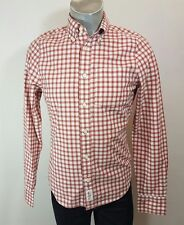 Abercrombie and Fitch mens muscle fit check casual shirt Small