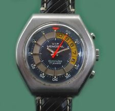 Vintage 70's Yacht Sailing Race Counter Chronograph V.I.P MEMOSAIL Valjoux Mov-t