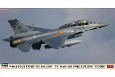 HASEGAWA 07422 1/48 ROCAF F-16B Block20 `Taiwan Air Force Flying Tigers`