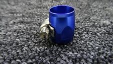 AN-06 (AN6 15MM) BLUE HOSE END FINISHER JUBILEE CLIP CLAMP FITTING ASTON MARTIN