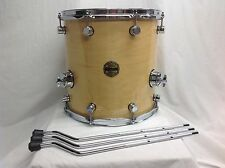 "Ddrum Paladin 14"" X 14"" Floor Tom/Maple Shell/Natural Maple Finish/NEW"