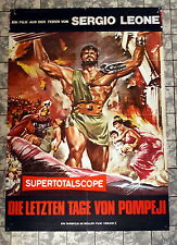 Letzten Tage von Pompeji * STEVE REEVES - A1-FILMPOSTER WA -Ger 1-Sheet RR70s