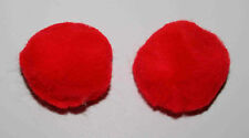 Equine Pony Size Ear Plugs Protection  - Red (see other listings for Horse size)