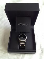 """Men or Unisex Watch, MOVADO MUSEUM  EXCLUSIVE """"Brilliant-Stainless Steel"""""""