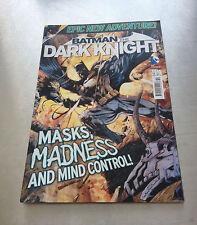 BATMAN DARK KNIGHT COMIC ISSUE 10 MASKS MADNESS AND MIND CONTROL