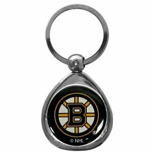 NHL Boston Bruins Chrome Key Chain Ring