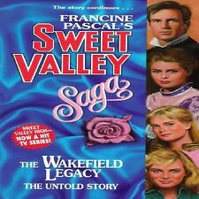 The Wakefield Legacy (Sweet Valley High) Pascal, Francine Paperback