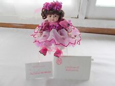 Marie Osmond Olive May Loving Tribute Tiny Tots Doll COA + Doll Necklace