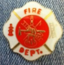 FIRE DEPARTMENT ASSORTED IMAGES LAPEL PIN HAT TAC NEW