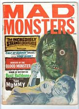 WoW! Mad Monsters #10 The Mummy! Incredibly Strange Creatures! Shock Theater!
