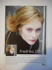 ▓ PLAN MEDIA ▓ FREDRIKA STAHL : A FRACTION OF YOU