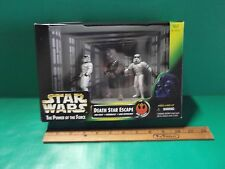 """Star Wars The Power Of The Force Death Star Escape 4""""in Figures Hasbro 1997"""