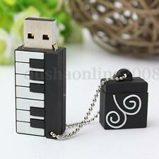 Piano 64 G GO GB Cle USB 2.0 Mémoire Flash Drive Stick U-Disk Win 7/10 PC Cadeau