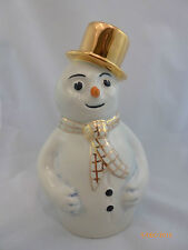 WADE-SNOWY GOLD HAT SNOW MAN LARGE LE 20
