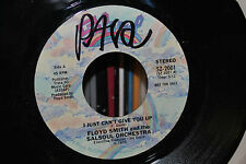 Floyd Smith 45-I Just Can't Give You Up 1975 EARLY NORTHERN DISCO PROMO Salsoul