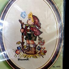 Crewel Embroidery Kit Hummel PEASANT BOY Paragon #0233 Vtg 1975 Unopened