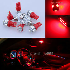 Map Dome LED Blub Interior Light Package 14X Red Kit For 13-2015 Honda Accord PZ